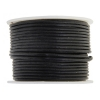 Leather Round Cord 1.5mm Black